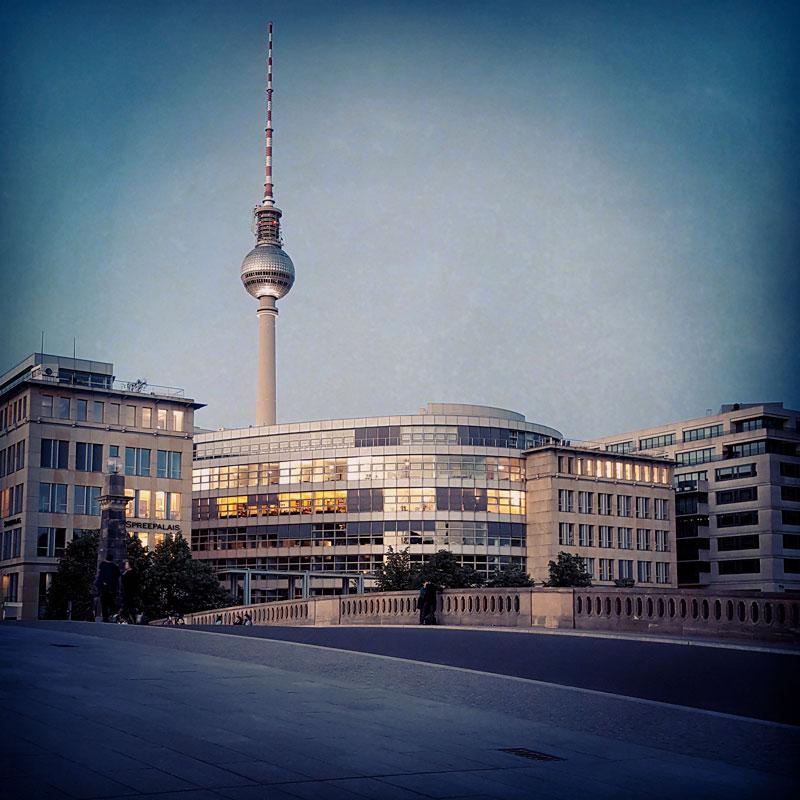 La Torre della Televisione, uno dei simboli di Berlino