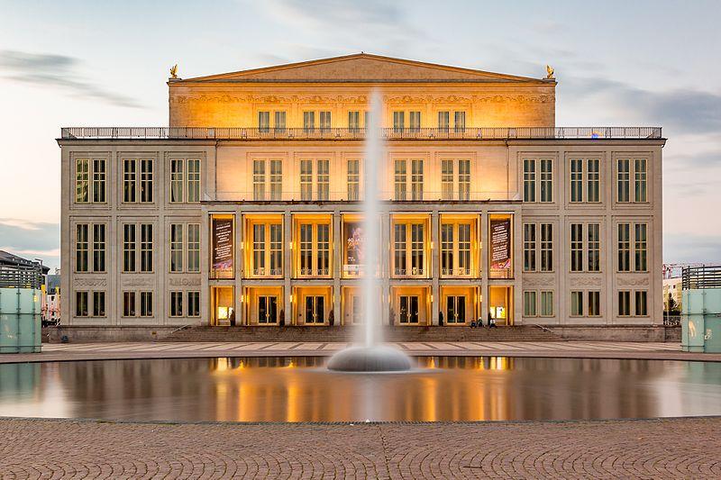 Il Teatro dell'Opera di Lipsia