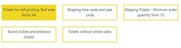 Tipologie di biglietti della BVG