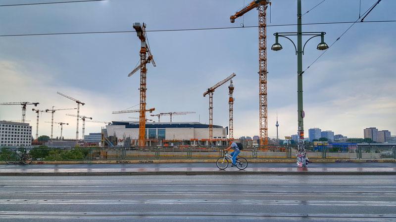 Berlino è una città in continua evoluzione