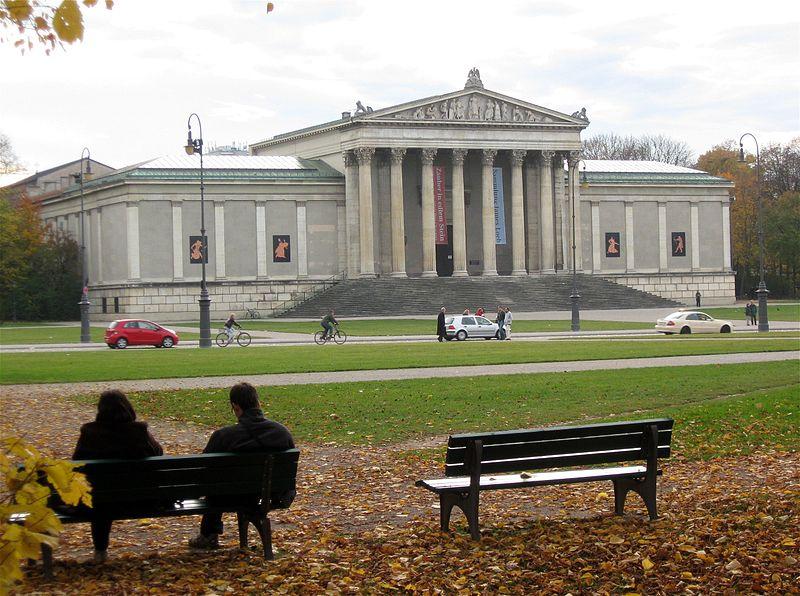 L'Antikensammlung in Köenigsplatz