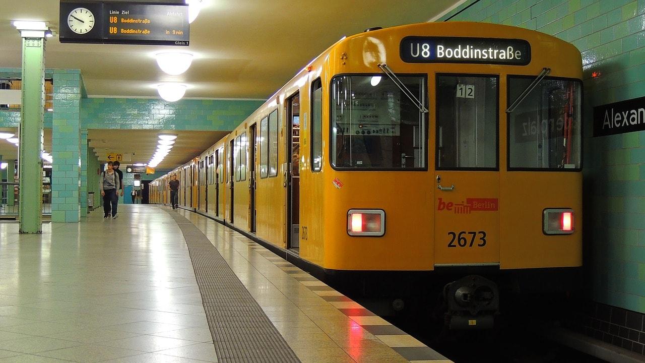 La U-Bahn è la metropolitana del sistema di trasporto tedesco