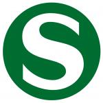 Il logo della S-Bahn, metropolitana di superficie