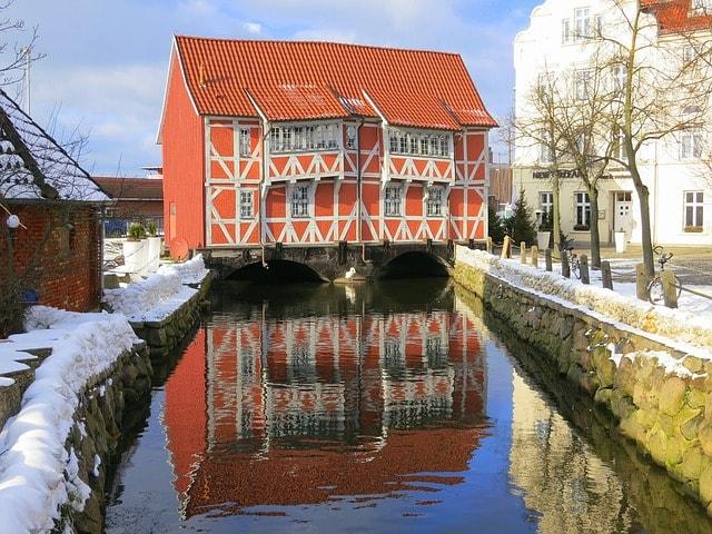 La casa sull'acqua di Wismar