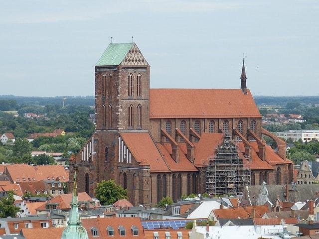 La chiesa Georgenkirche (San Giorgio) a Wismar