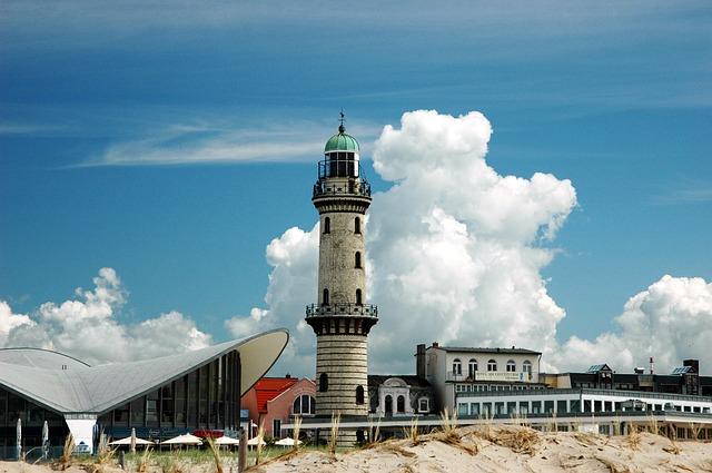 Faro di Warnemünde a Rostock