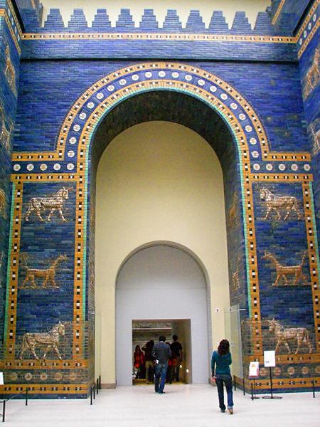 La porta di Ishtar nel Pergamon Museum di Berlino