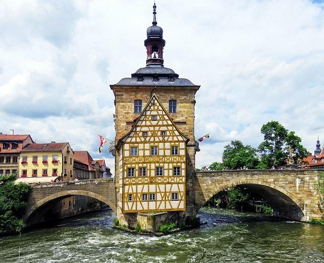 Il municipio di Bamberga