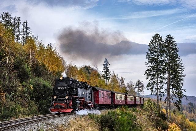 Il trenino nel parco nazionale dello Harz