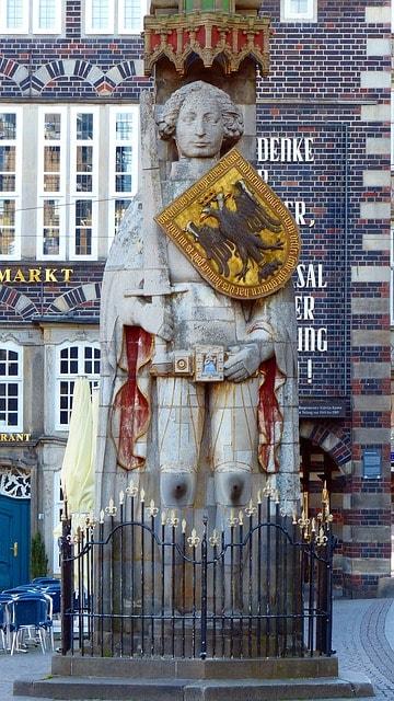 La statua di Rolando a Brema