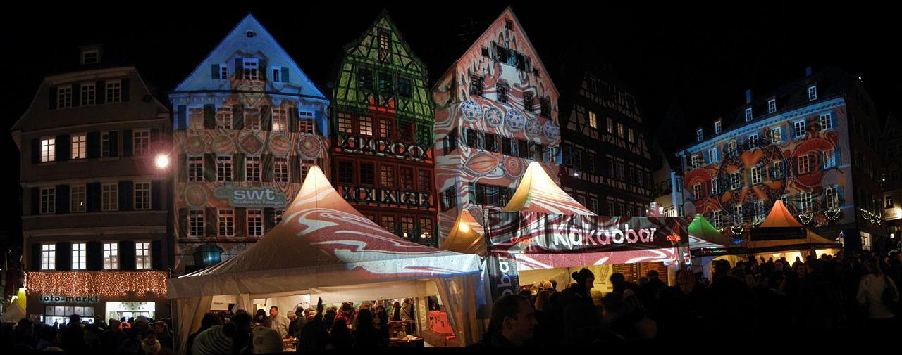 Mercato di cioccolato ChocolArt a Tubinga