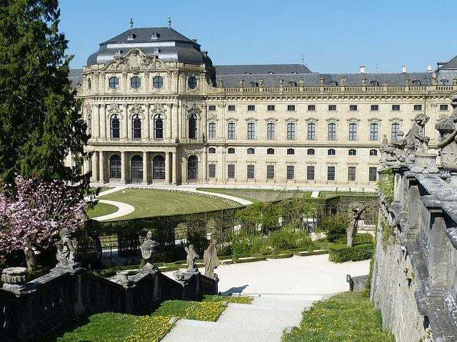 Veduta della Residenza di Würzburg