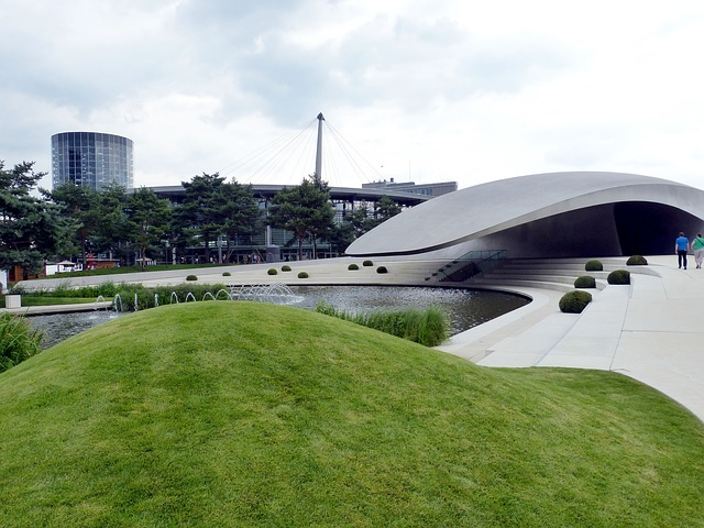 L'autostadt di Wolfsburg dove ha luogo il festival Movimentos