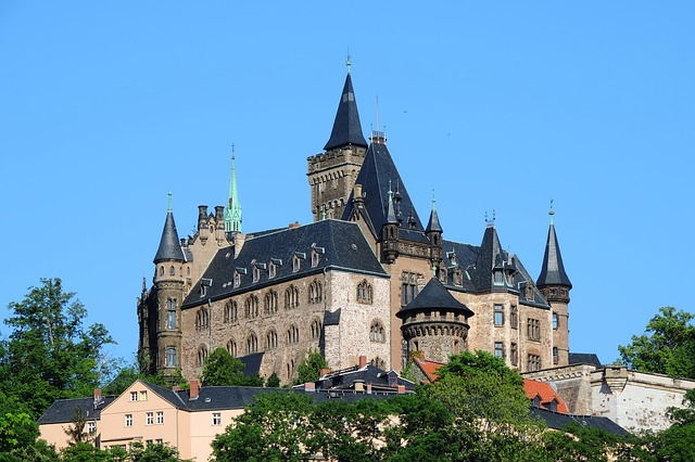 Il Castello di Wernigerode in Germania