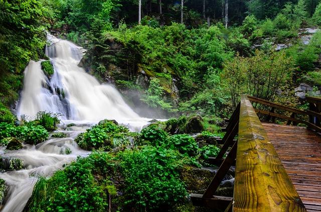 Le cascate di Triberg per le escursioni in Germania