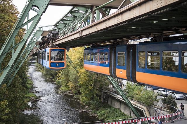 La teleferica di Wuppertal