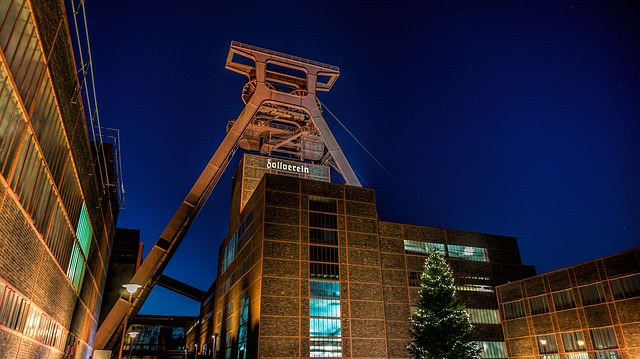 Il museo industriale di Zollverein a Essen