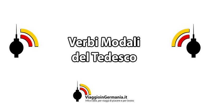 I verbi modali del tedesco e la loro coniugazione
